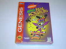 REAL MONSTERS SEGA GENESIS MEGADRIVE *BRAND NEW*