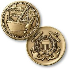 USCG Buoy Tender Challenge Coin Bronze US Coast Guard Aids to Navigation ATON