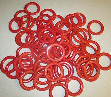 144 CARNIVAL PLASTIC RINGS SODA BOTTLE TOSS CANE RACK RING BIRTHDAY PARTY