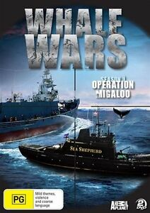 Whale Wars - Operation Migaloo  - Season 1 - 2 Disc Set - New & Sealed DVD