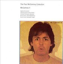 PAUL McCARTNEY McCARTNEY  II 1980 REMASTER CD+3 BONUS TRACKS