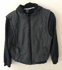 Shaun White Boys Hooded Jacket XL/16 Gray Zip Up Hoodie