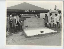 1969 MARTIN LUTHER KING JR VINTAGE PHOTO SELASSIE ATLANTA AFRICAN AMERICAN ART