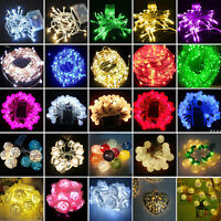 LED String Fairy Lights Battery Operated Christmas Wedding Xmas Party Decoration