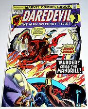 Daredevil #112 & The Black Widow - vs The Mandrill Bronze Marvel