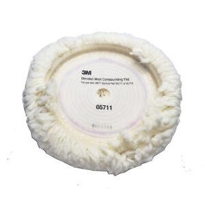 3M 05711 Wool Polishing Pad, 9 in