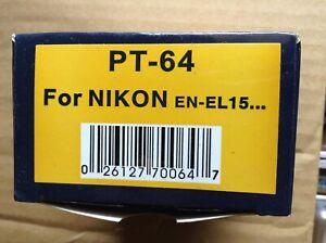 "Nikon EN-EL15 Replacement Car/Home Battery Charger Premium Tech Brand ""Unused"""