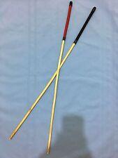 "Eton Senior Rattan School Cane (Whip Pcord Handle)- 34-36"" L & 11.5-12.5mm D"