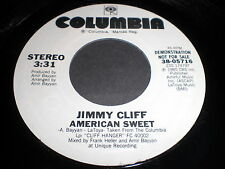 Jimmy Cliff: American Sweet / (Same) 45