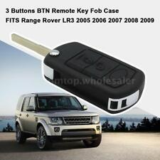 3 Buttons Remote Flip Key Fob Case For Land Rover Range LR3 Discovery Sport H0P8