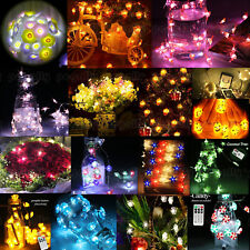 20 Style 3M 40 LEDs Copper Wire String Fairy Lights Xmas Party & Remote Control