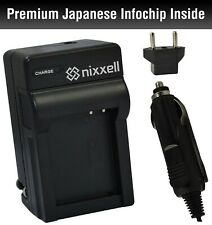 Nixxell CB-2LX Charger for Canon NB5L Battery for SX210 IS, SX220 IS, SX230 HS