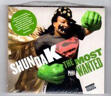 (IA588) Shunda K, The Most Wanted - 2011 sealed CD