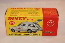 Dinky Toys 278 Vauxhall Ambulance very near mint complete original box