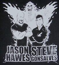 Ghost Hunters TAPS T-Shirt Signed Autographed Jason Hawes Steve Gonsalves Mens L