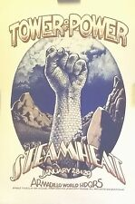 Tower of Power & Steamheat | at Armadillo HQ Austin | Orig. 1976 Concert Poster