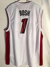 Adidas NBA Jersey Miami Heat Chris Bosh White sz L