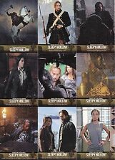 SLEEPY HOLLOW SEASON 1 2015 CRYPTOZOIC BASE CARD SET OF 63 TV