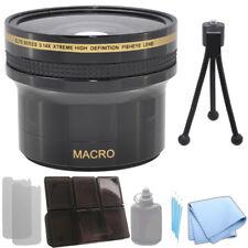 0.14x Xtreme HD Fisheye Lens 58 mm for Canon T3I 70D 5D Mark III + Starter Kit