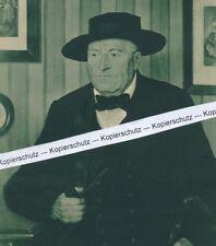 Dorfbürgermeister aus dem Elsass - Gemälde von Gustav Stoskopf um 1940 - R 9-10