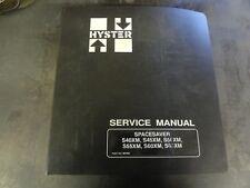 Hyster S40XM S45XM S50XM S55XM S60XM S65XM SpaceSaver Service Manual