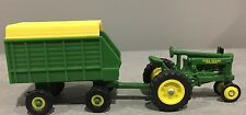 1/64 John Deere Unstyled Model A Tractor Toy & Hay Wagon by Ertl