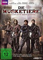 LUKE PASQUALINO/+ - DIE MUSKETIERE - DIE KOMPLETTE 1.STAFFEL  4 DVD NEU