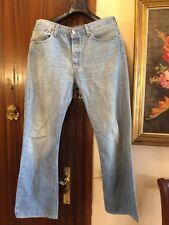 """LEVIS 501 Pantalon Vaquero Cotton """"Talla 43cm Algodon W33"""