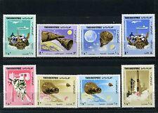 YEMEN ARAB REPUBLIC 1966 Sc#232-232G SPACE SET OF 8 STAMPS MNH