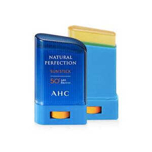 AHC Natural Perfection Sun Stick 22g SPF50+/PA++++ UV Protection Brightening