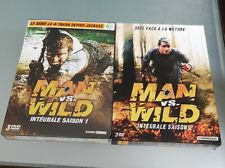 lot dvd man vs wild saison 1 et 2 rare !