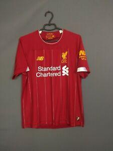 Liverpool Jersey 2019 2020 Home MEDIUM Shirt Soccer Football New Balance ig93