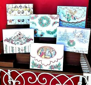 Carol Wilson Holiday Blank Note Card Portfolios ~~ Christmas Must-Have ~~ F / S