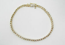 14kt Yellow Gold Diamond Bracelet
