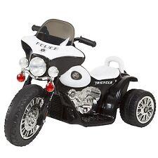 Lil Rider Three Wheel Police Battery Operated Chopper Trike 2-4 Yrs Black
