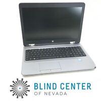 "HP ProBook 650 G2 15.6"" Laptop i5-6200U No DDR4 No HDD No OS AS IS"