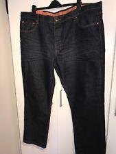 "Le Breve Mens Smart Dark Blue Jeans Bnwt Size 48"" Waist made in uk"