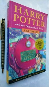 HARRY POTTER AND THE PHILOSOPHER'S STONE * JOANNE ROWLING * ERRORS 1ST/30 £4.99