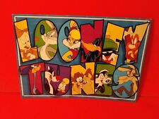 LOONEY TUNES METAL SIGN WALL HANGING DECOR BUGS BUNNY DUFFY DUCK TAZ MARVIN