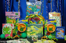 Frog Party Set # 12 Frog Party Supplies Rainforest Frogs with Favors Frog Games