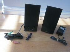 Creative Labs SBS270 Powered 2 Channel Speaker System Computer or Other Complete
