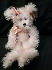"""Bearington Bears Collection Pink Furry Bear 13"""" Camille with Tag"""
