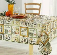 """60x80 RECTANGLE """"COULEUR DE PROVENCE"""" FRENCH PROVENCE TABLECLOTH, NEW!"""