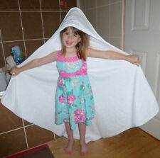 HOODED TOWEL embroidered with a OWL design and Personalised Name 0-5 year