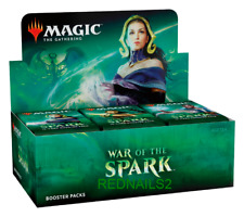 MAGIC THE GATHERING WAR OF THE SPARK BOOSTER BOX  SEALED