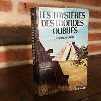 I Misteri Delle Tipo Dimenticato Charles Berlitz Marabù 1976
