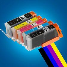 5 Ink Cartridges for Canon Pixma TS5050 TS6050 TS5051 TS5053 TS5055 TS7750 P