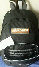 Anaconda Backpack NEW w tags Adult Size in BLACK 38cm Long x 28cm wide x 14 deep