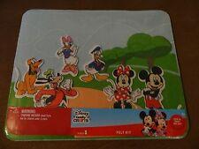 Disney Mickey & Minnie Mouse Felt Board Kit With 12 Felt Shapes-Free Shipping