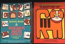 Preschool Workbooks Classifying Cat & Blocks, Bears & Building Math Skills